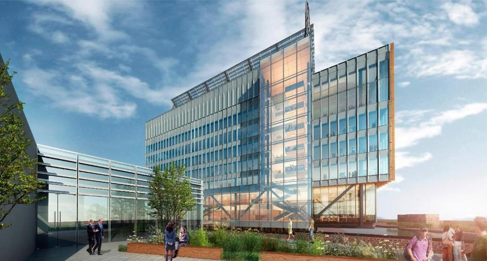 General Electric Hq Building In Boston E Architect