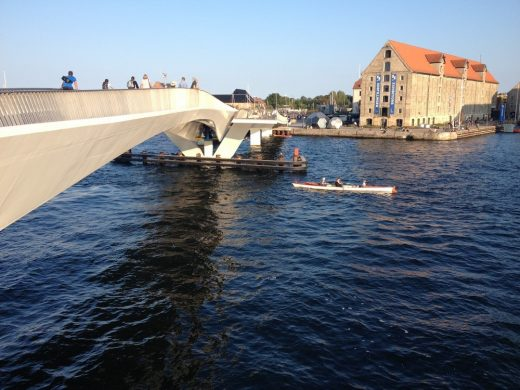 Inner Harbour Bridge in Copenhagen