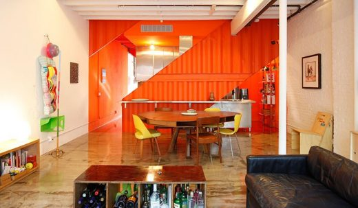 Irving Place Carriage House by LOT-EK Architects