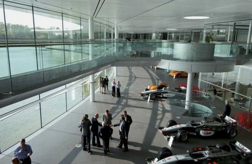 McLaren Production Centre Surrey