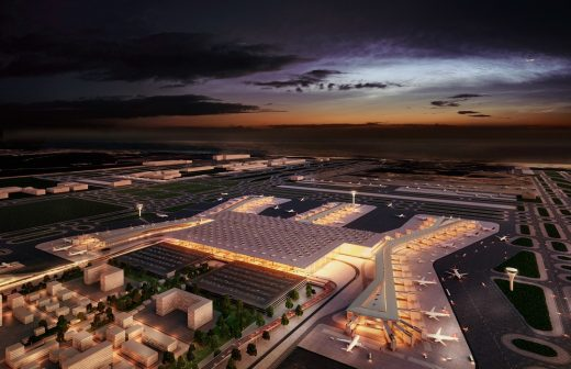 New Istanbul Airport Terminal Building Design