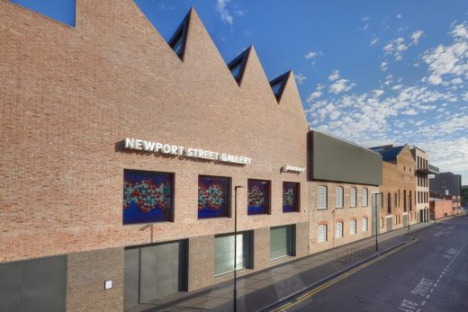 Newport Street Gallery London building