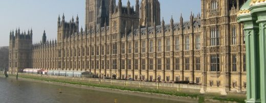 Palace of Westminster London Building