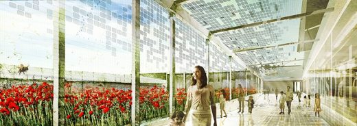 Papaver National Wildflower Centre by Matteo Cainer Architects