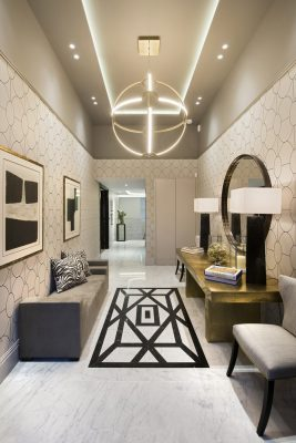 The Park Crescent by Amazon Property hallway with artwork