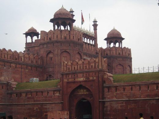 Red Fort in Delhi building | www.e-architect.com
