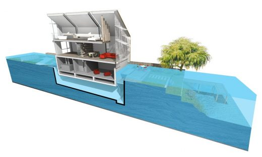 UK's First Amphibious House