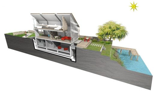 First Amphibious House in the UK