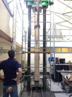 Supertall Timber Physical Testing