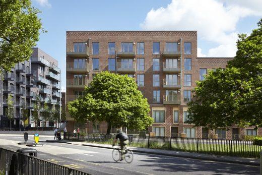 St Johns Hill Redevelopment in Battersea