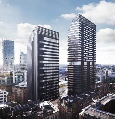 St Michael's Manchester Development by Gary Neville