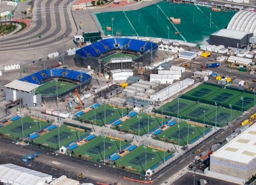 Tennis Venues for Rio 2016