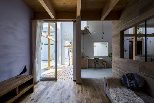 New Japanese property design by Alts Design Office, Architects