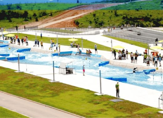 Deodoro Olympic Whitewater Stadium for Rio