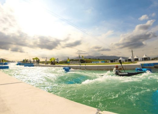 Deodoro Olympic 2016 Whitewater Stadium for Rio