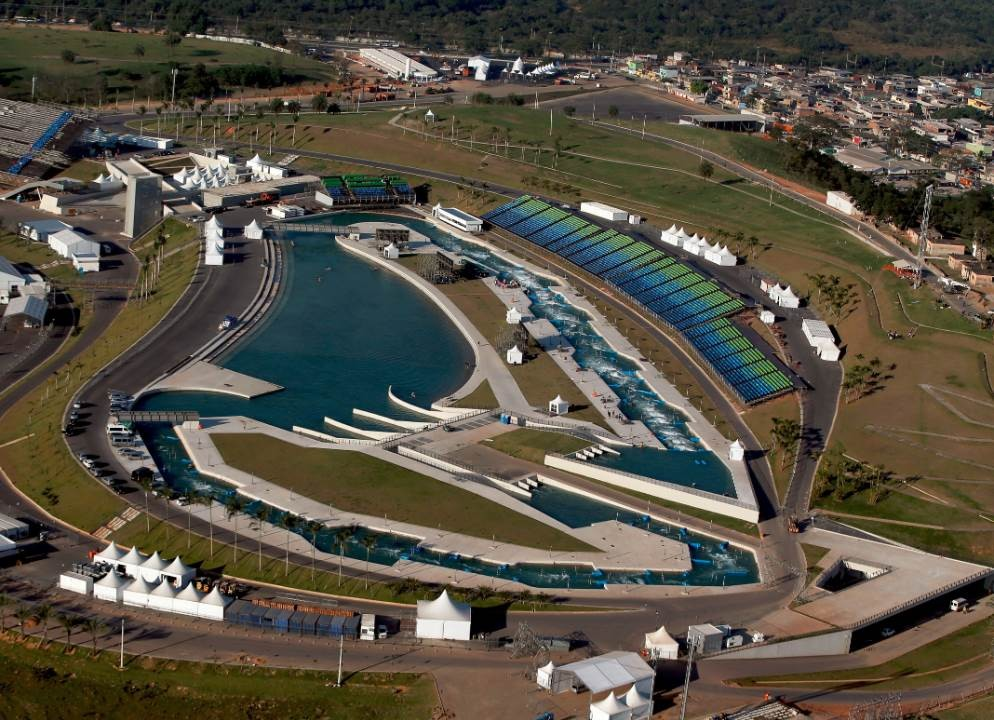 whitewater stadium for rio 2016 olympic park e architect. Black Bedroom Furniture Sets. Home Design Ideas