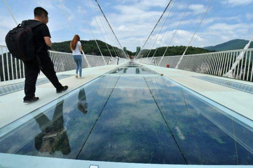 Zhangjiajie National Forest Park Glass Bridge