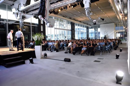Lord Norman Foster and Francis Aish talk at ETH Zurich