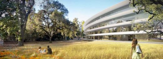 Apple Campus 2 Cupertino Headquarters building
