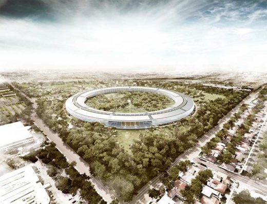 Apple Campus 2 Cupertino HQ