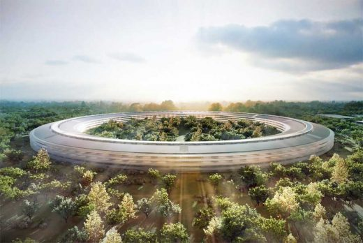 Apple Campus 2 Cupertino HQ building