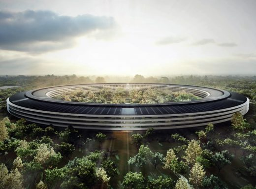 Apple Campus 2 Cupertino HQ Building design