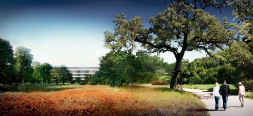 Apple Campus 2 HQ building design