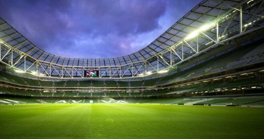 Aviva Stadium Dublin Building Tours