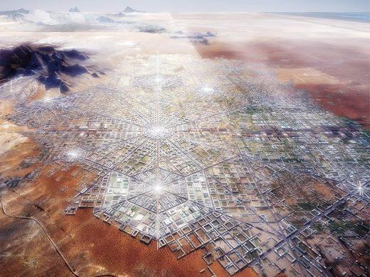 Mexico USA Border City Design