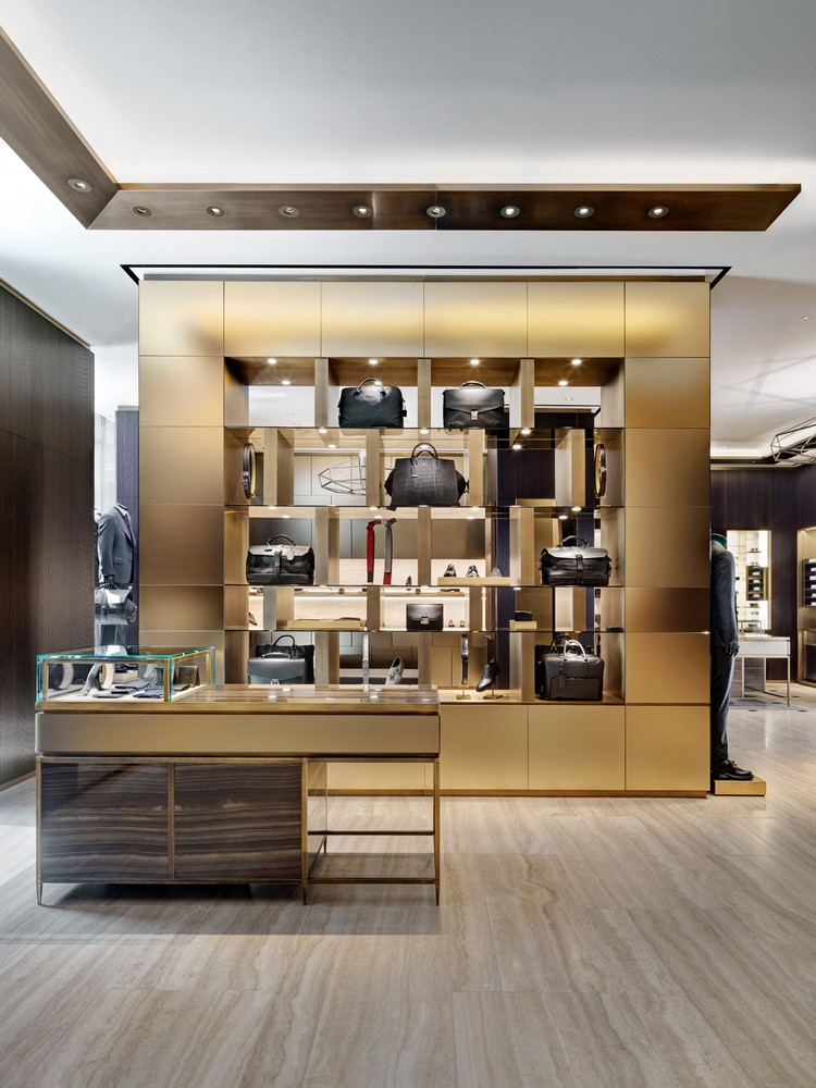 brioni flagship store in milan e architect