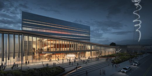 Buddy Holly Hall of Performing Arts and Sciences by Diamond Schmitt Architects