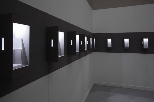 Captured Moments: Reflected Spaces design by Rhian Hâf