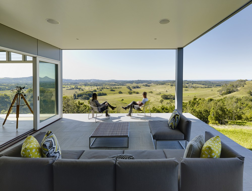 Coorabell residence 5 e architect for Balcony byron bay menu