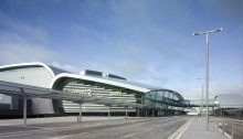 Dublin T2 Airport building Ireland