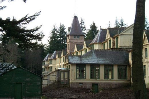 Glen O'Dee Sanatorium Building Deeside