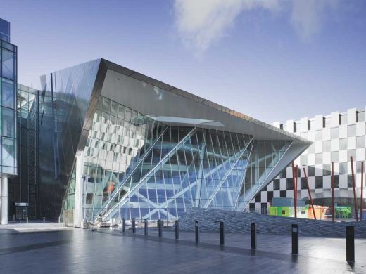 Grand Canal Square Dublin Building