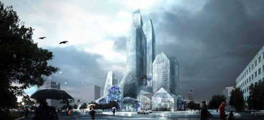 Harbin Ice Hotel building design China by LAVA