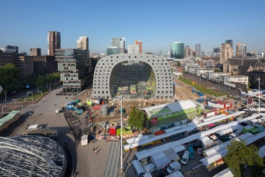 Market Hall in Rotterdam Building by MVRDV Architects