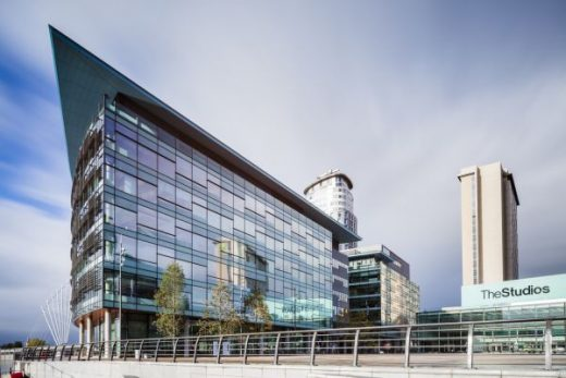 MediaCityUK Building at Salford Quays