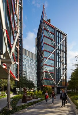 NEO Bankside luxury Flats London building