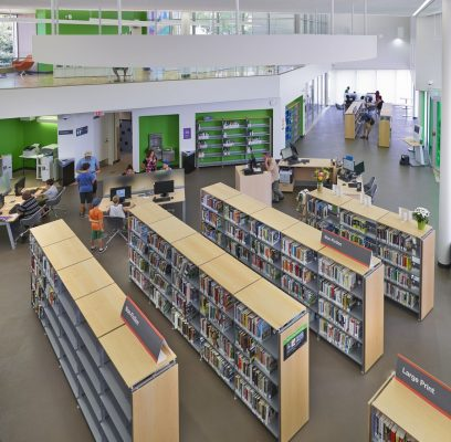 New Highlands Branch Library in Edmonton
