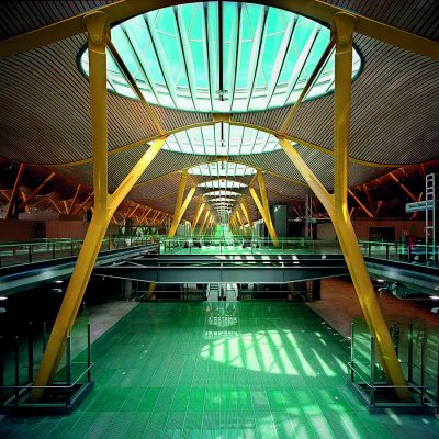 Madrid Airport New Terminal Area building interior