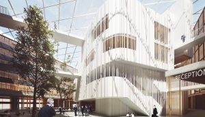 New Town Hall in Uppsala