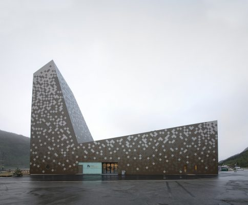 Mountaineering Center Norway by Reiulf Ramstad Architects