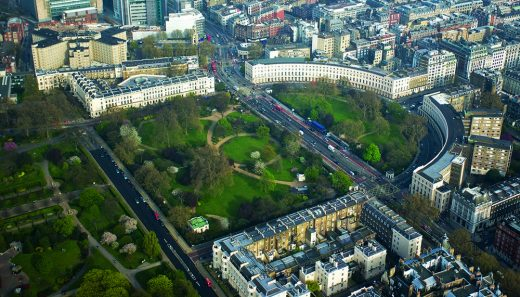 The Park Crescent by Amazon Property Aerial View
