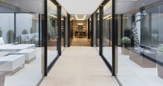 The Park Crescent by Amazon Property Glass Hallway