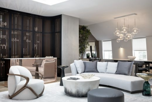 The Park Crescent by Amazon Property Penthouse living area