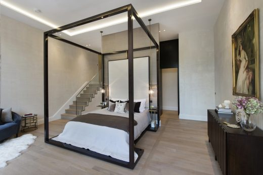 The Park Crescent by Amazon Property Master Bedroom suite,bedroom area
