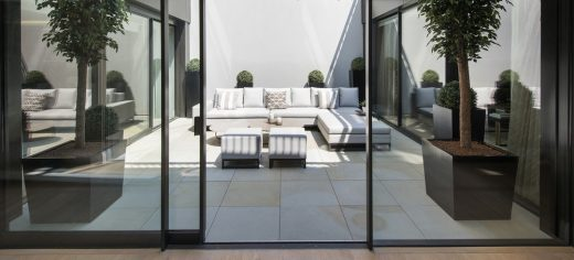 The Park Crescent by Amazon Property Courtyard Garden Day