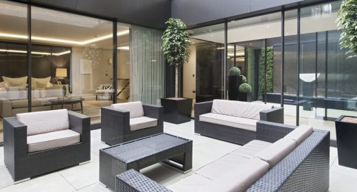 The Park Crescent by Amazon Property Courtyard Garden